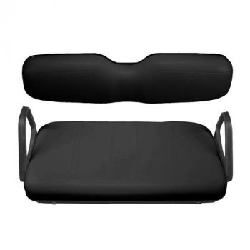 Black Front Seat Cover Package