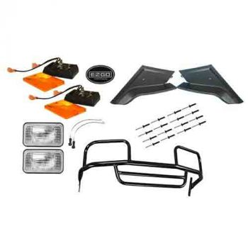 Black Front Brushguard with Light Package