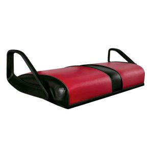 TXT/ST Seat-Bottom Cover (Red on Black)