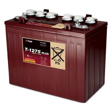 12 Volt Deep Cycle Golf Cart Battery | T-1275 Plus