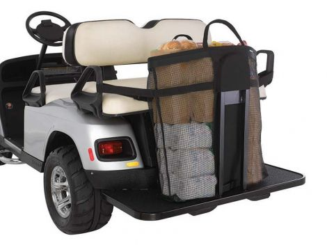 SHOPPING BAG, 4 PASSENGER W/FOOTREST