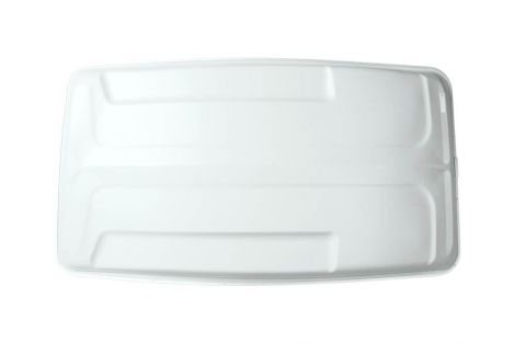 """630307- 80"""" Sun Top without Holes   White"""