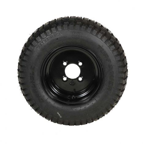 Black Rim Tire & Wheel Assembly