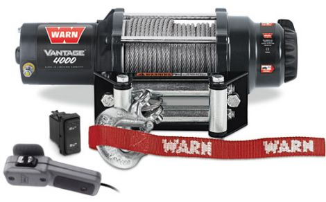 WARN 4000lb Winch Kit