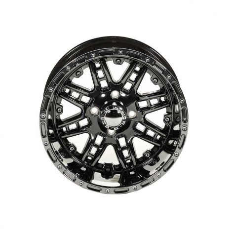 Megastar PVD Black Chrome 14X8 Wheel
