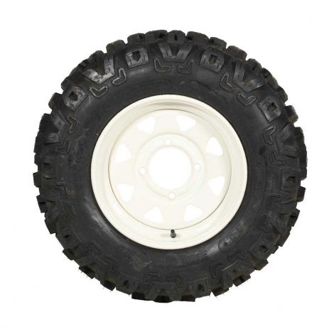 Commercial Steel Front Wheel & Tire Assembly