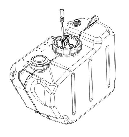 Gas Tank Assembly w/ Fuel Level Sender