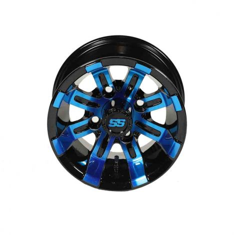 10x7 Spartan SS Wheel (Blue/Black)
