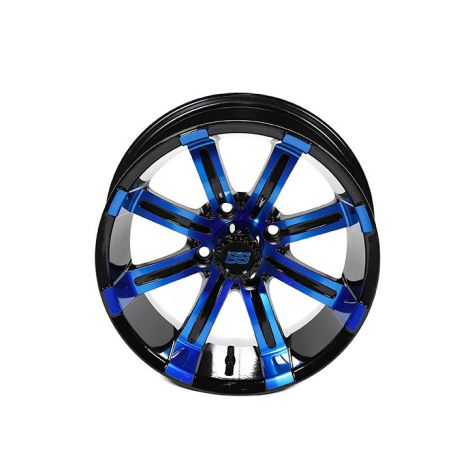 14x7 Spartan SS Wheel (Blue & Black)