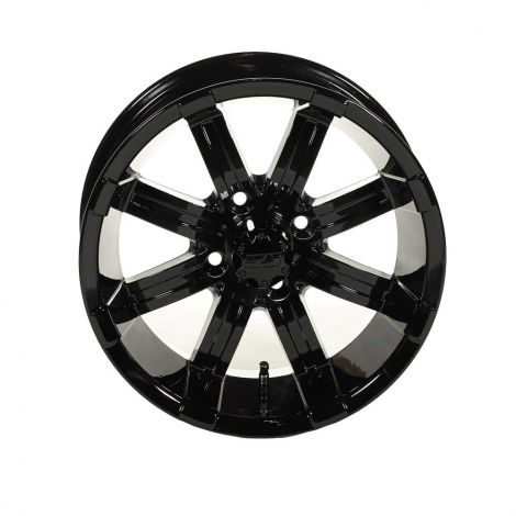 WHEEL,SPARTAN SS,14X7 BLK GLOSS
