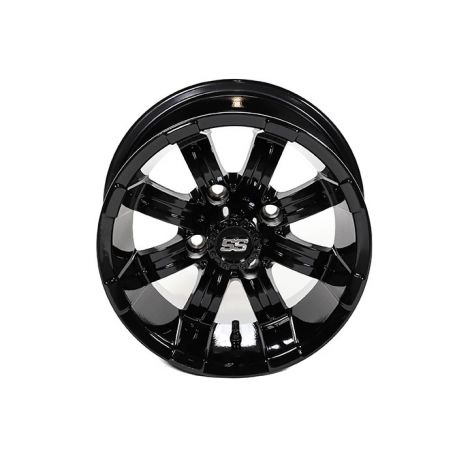 12x7 Spartan SS Wheel (Black Gloss)