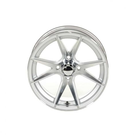 Silver Apollo Wheel w/ Machined Face (14x7)