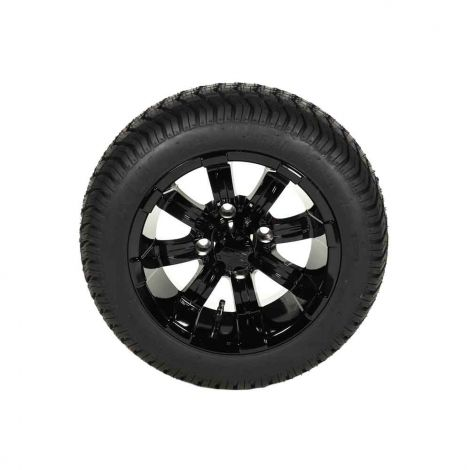 215/40-12 Paramount Tire w/ Gloss Black Spartan Assembly