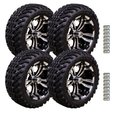 "14"" Maverick Wheel and Desert Eagle Tire Package 
