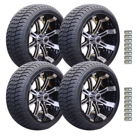 "14"" Spartan Wheel and Paramount Tire Package 