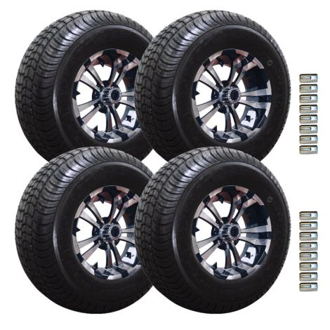 "10"" Spartan Wheel and Loadstar Tire Package 