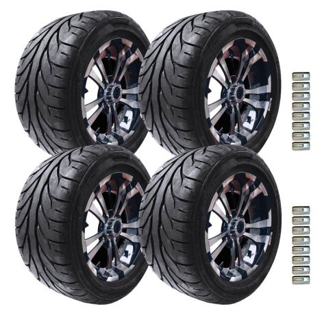 "12"" Maverick Wheel and KZT Tire Package 