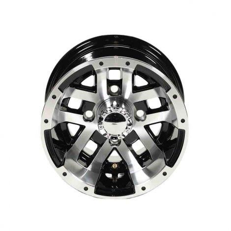 10x7 Blitz Wheel (Machined w/ Black)