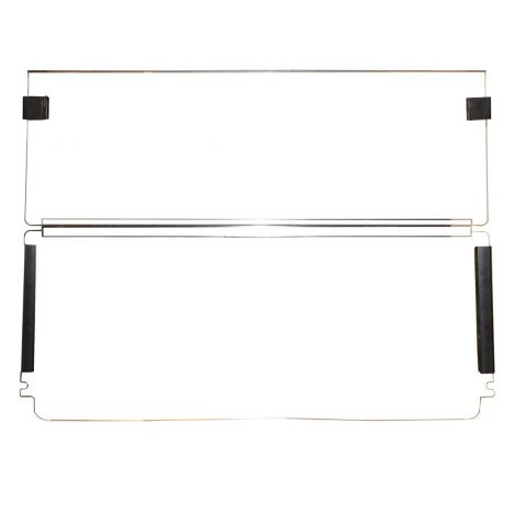 Econ Windshield for EZGO RXV | Clear