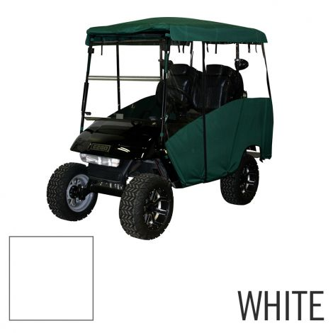 4 Pass Enclosure for EZGO TXT-White