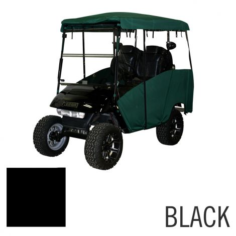 4 Pass Enclosure for EZGO TXT-Black
