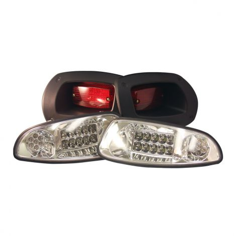 12/48V EZGO Deluxe LED Light Kit for RXV