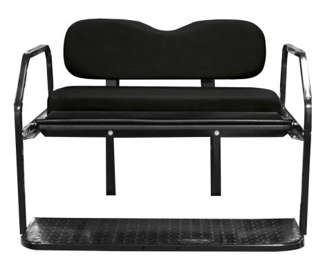 Titan Rear Seat Kit for EZGO TXT-Black