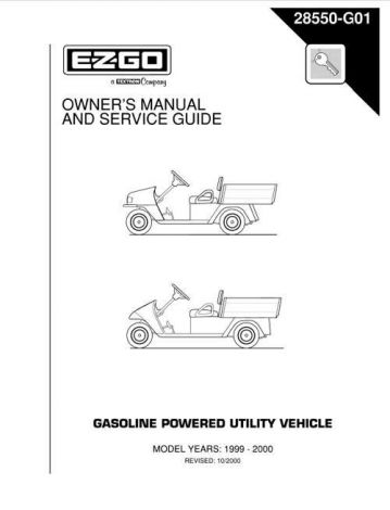 Owners Guide Workhorse 1200 and 800G