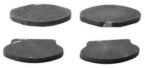 Hydraulic Disc Brake Pad Kit (4/pkg)