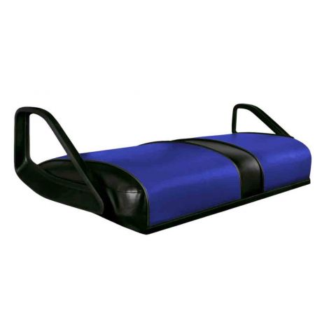 Seat Bottom Cover for TXT & ST Vehicles | Blue On Black