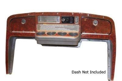 Dark Burl Wood Dash Applique Kit