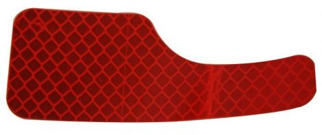 Red Rear Reflector (Driver Side)