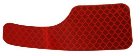 Red Rear Reflector (Passenger Side)