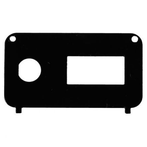 Console Plate for Key Switch / State of Charge Meter