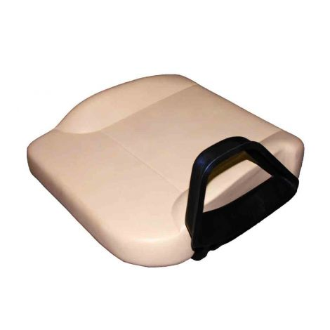 Tan Seat Bottom Assembly, Driver & Passenger Side
