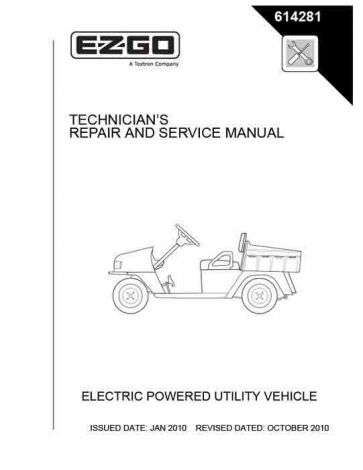 2010-2012 Repair Manual for 48V ST 400