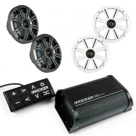 Kicker Bluetooth Speaker System Kit