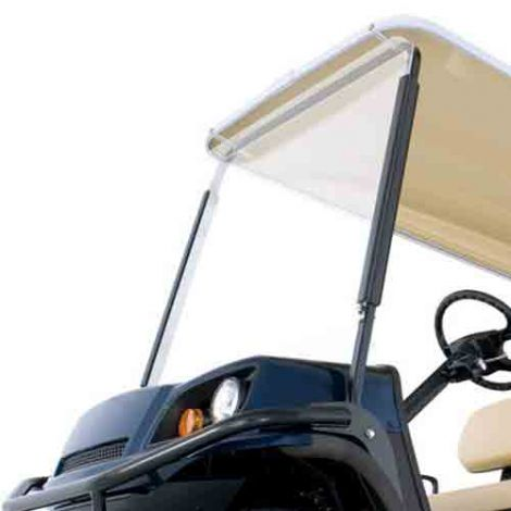 Clear Flat Windshield Kit for E-Z-GO Terrain Vehicles