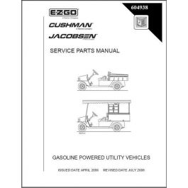 2006 2008 parts manual for gas utility vehicles mpt. Black Bedroom Furniture Sets. Home Design Ideas