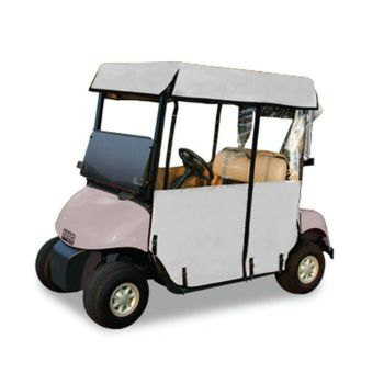 3-Sided Enclosure For 2-Passenger RXV | White Vinyl