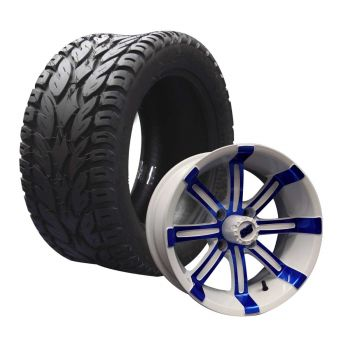 "12"" Spartan on 245/50 Blaze Tires Combo 