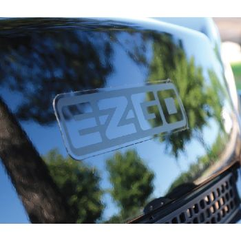 Blacked Out E-Z-GO Decal - Small