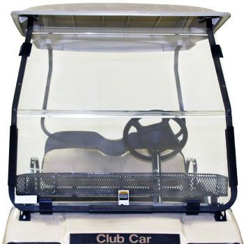 Folding Windshield for Club Car DS- Clear