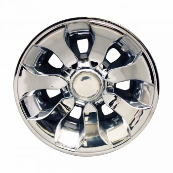 "8"" Chrome Driver Wheel Cover"