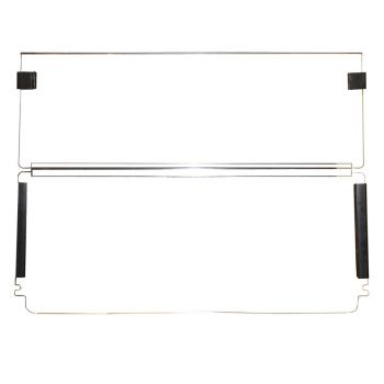 "Clear Split Windshield 80"" Top 