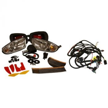Deluxe Personal Transportation Vehicle Kit with State-of-Charge Meter & Turn Signal For Electric RXV