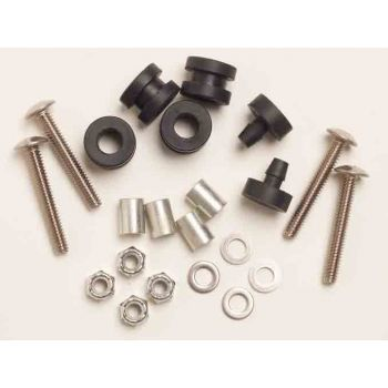 Windshield Hardware Kit for Flat & Split Windshields