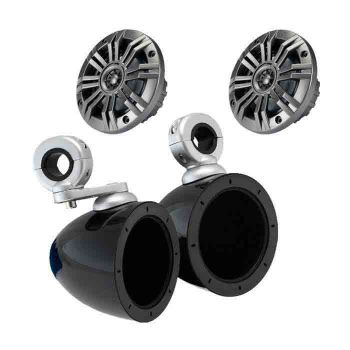 "4"" Speakers with Bullet Enclosures by Kicker"