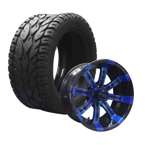 "14"" Spartan on 23x10 Blaze Tire Combo 