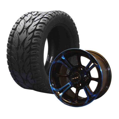 "12"" Spinout on 245/50 Blaze Tires Combo 